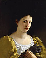 Lady with Glove, 1870, bouguereau