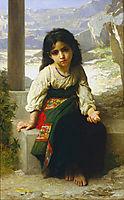 The Little Beggar, 1880, bouguereau