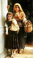 The Little Beggars, 1890, bouguereau