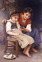The Little Sulk, 1888, bouguereau