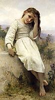 The Little Thief, 1900, bouguereau