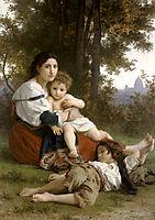 Mother and Children, 1879, bouguereau