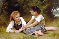 The Nut Gatherers, 1882, bouguereau