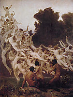 Oreads (Nymphs), 1902, bouguereau