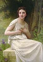 Reflexion, 1897, bouguereau