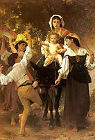 Return from the Harvest, c.1878, bouguereau
