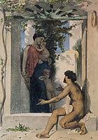 Roman Charity, 18, bouguereau