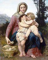 Sainte Famille, 1863, bouguereau