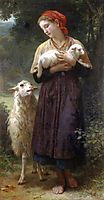 The Shepherdess, 1873, bouguereau