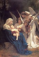Song of the Angels, 1881, bouguereau