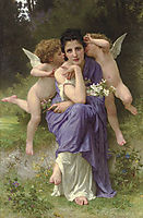 Songs of Spring, 1889, bouguereau