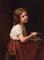 Soup, 1865, bouguereau