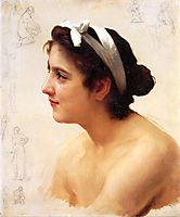 Study Of A Woman For Offering To Love, bouguereau