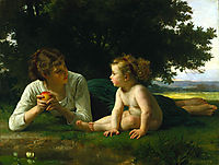 Temptation, 1880, bouguereau
