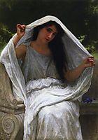 The Veil, 1898, bouguereau