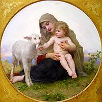 The Virgin Lamb, 1903, bouguereau