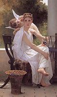 Work Interrupted, 1891, bouguereau