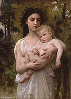 The Young Brother, 1900, bouguereau