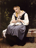 Young Worker, 1869, bouguereau