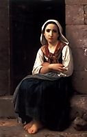 Yvonette, 1867, bouguereau