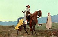 An Arab Horseman, boulanger