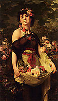 The Flower Girl, boulanger