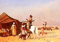 It-s the Emir, 1870, boulanger