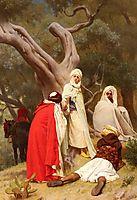 Reception Of An Emir, boulanger