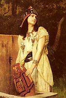 A Woman with an Urn, boulanger