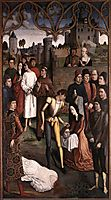 Justice of the Emperor Otto: The Execution of the Innocent Count, 1475, bouts