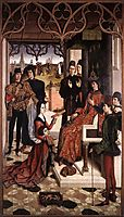 Justice of the Emperor Otto: The Ordeal by Fire, 1475, bouts