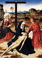 The Lamentation of Christ, c.1460, bouts