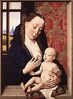 Mary and Child, c.1465, bouts