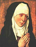 Mater Dolorosa, 1460, bouts