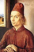 Portrait of a Man, 1462, bouts