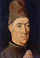 Portrait of a Man, c.1470, bouts