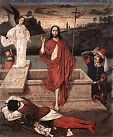 Resurrection, c.1455, bouts
