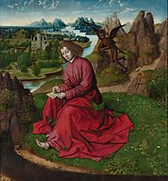Saint John the Evangelist on Patmos, c.1465, bouts