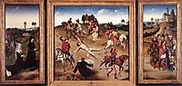 St. Hippolytus Triptych, 1475, bouts