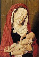 Virgin and Child, 1460, bouts