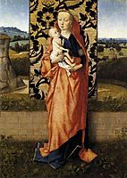 Virgin and Child, 1470, bouts