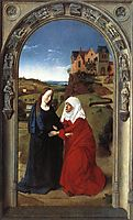 The Visitation, c.1445, bouts