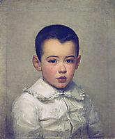 Pierre Bracquemond as child, 1878, bracquemond