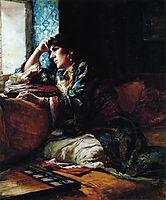 Aicha, a Woman of Morocco, 1883, bridgman