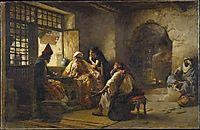 An Interesting Game, 1881, bridgman