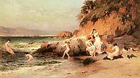 The Bathing Beauties, 1872, bridgman