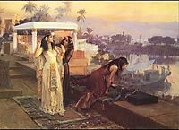 Cleopatra on the Terraces of Philae, 1896, bridgman