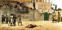The Diversion of an Assyrian King, 1877-1878, bridgman