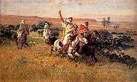 The Falcon Hunt, bridgman
