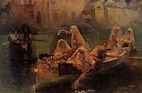 The Harem Boats, bridgman